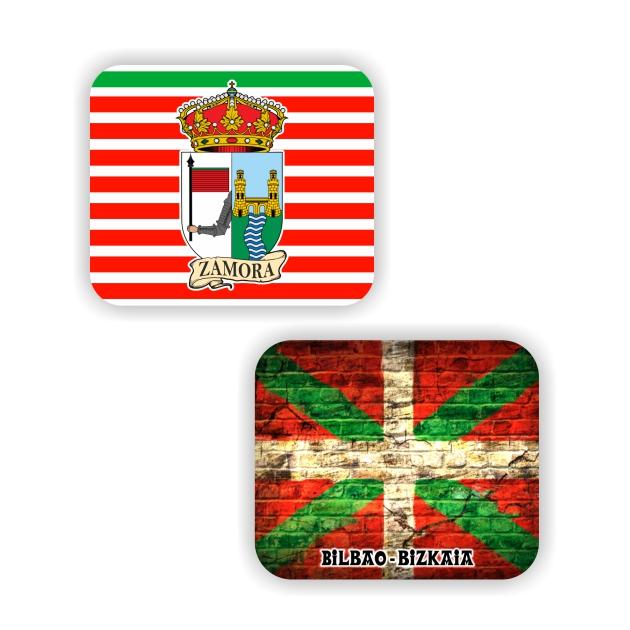 ALFOMBRILLA BANDERA Y ESCUDO SOUVENIR 797 004