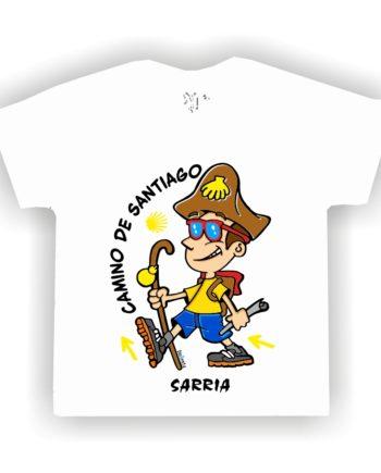 CAMISETA PEREGRINO NINO CIUDADES NINO 810 020