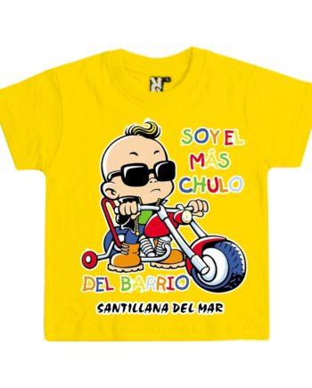 CAMISETA SOY EL MAS CHULO CIUDADES NINO 810 025