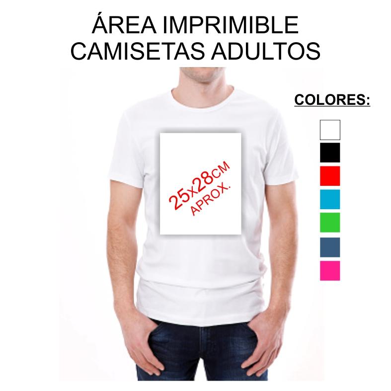 CAMISETAS ADULTO