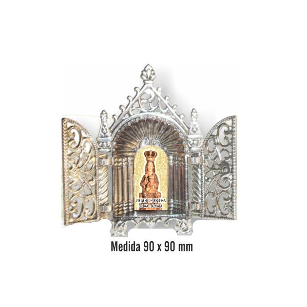 CAPILLA CON PUERTAS METAL SOUVENIR 853 1 FOTO 1