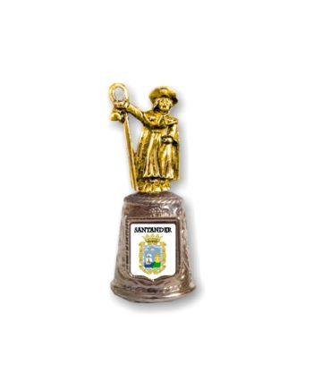 DEDAL METAL PEREGRINO SANTIAGO SOUVENIR 647 1 FOTO 1