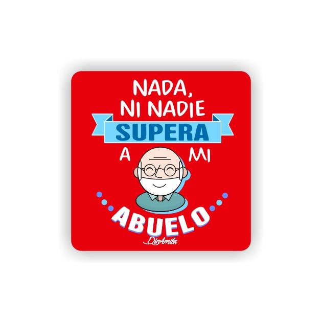 IMAN GOTA DE RESINA CON BASE DE MADERA FRASES 6X6 CM 297 15 1