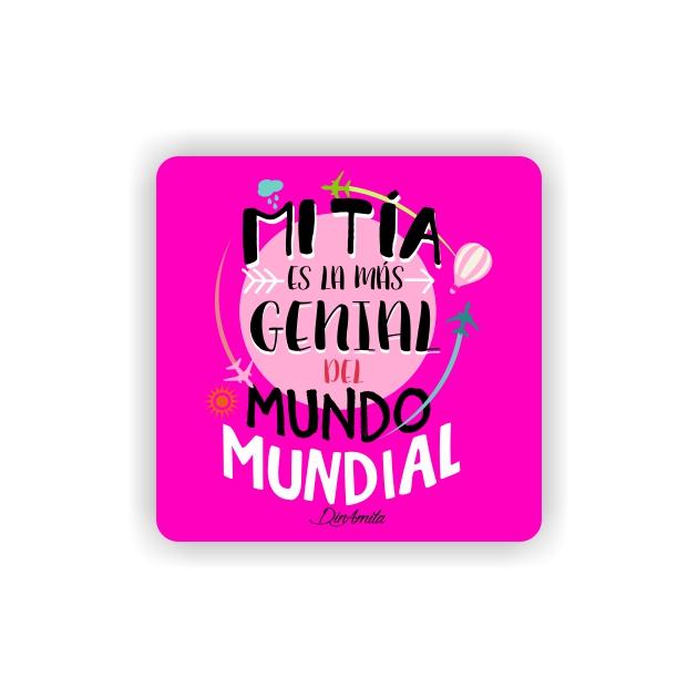 IMAN GOTA DE RESINA CON BASE DE MADERA FRASES 6X6 CM 297 22 1