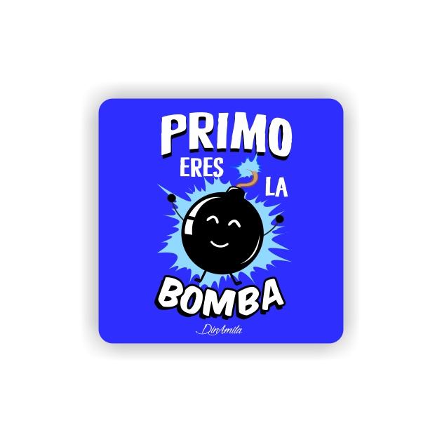 IMAN GOTA DE RESINA CON BASE DE MADERA FRASES 6X6 CM 297 24 1