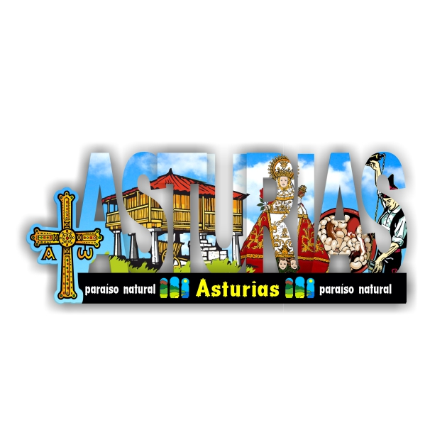IMAN MADERA LETRAS INTERCALADAS ASTURIAS 200 917 1