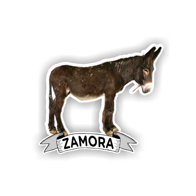 IMAN MADERA SOUVENIR BURRO ZAMORANO LEONES 200 906 1
