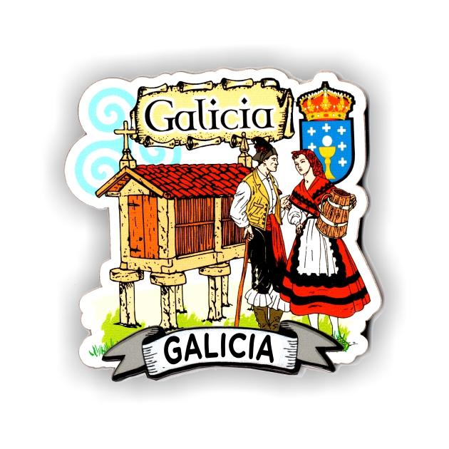 IMAN MADERA SOUVENIR GALLEGOS HORREO 200 605