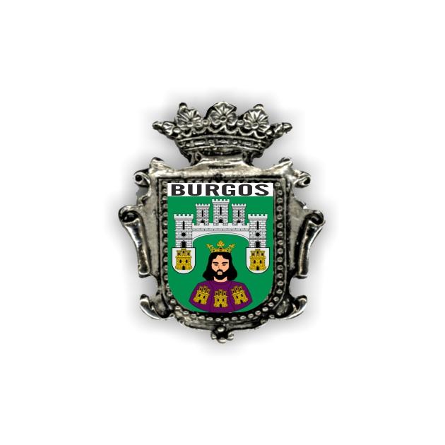 IMAN METAL SOUVENIR 263 ESCUDO ORLA CORONA 1