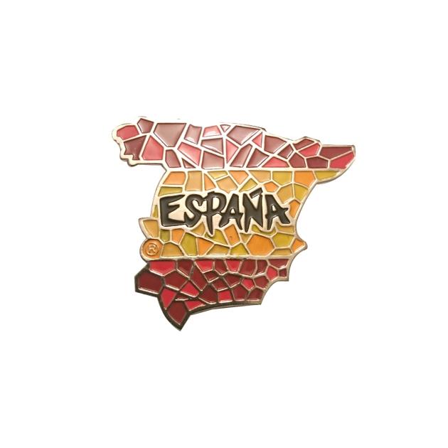 IMAN METAL SOUVENIR ESPANA 2D MAPA 307
