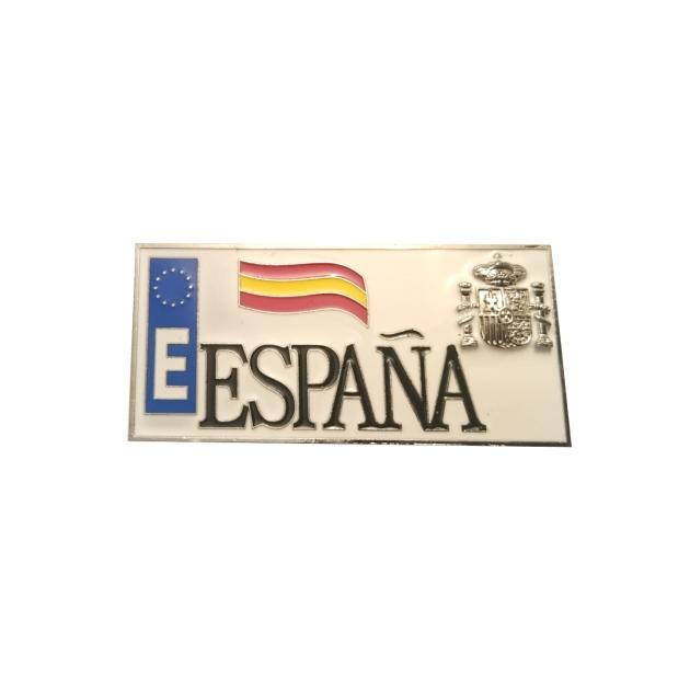 IMAN METAL SOUVENIR ESPANA 2D MATRICULA ESPANA 309
