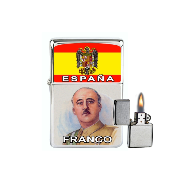 MECHERO GASOLINA TIPO ZIPPO ESPANA FRANCO 879