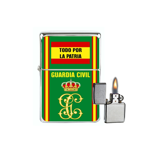 MECHERO GASOLINA TIPO ZIPPO GUARDIA CIVIL 2 881
