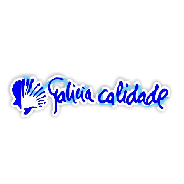 PEGATINA GALICIA CALIDADE COLOR 19X45 CM 800 1023