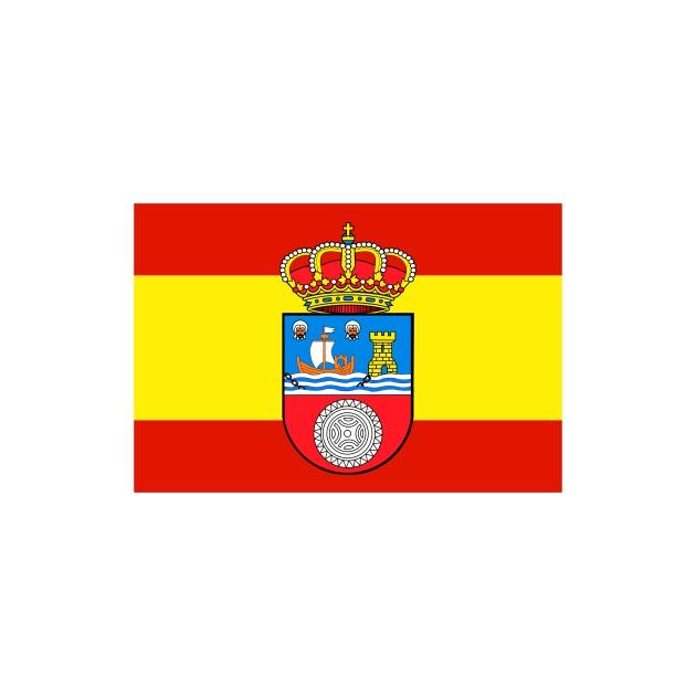 PEGATINA RECTANGULAR ESCUDOCANTABRIA ESPANA 8X5 CM 6X4 CM 800 523