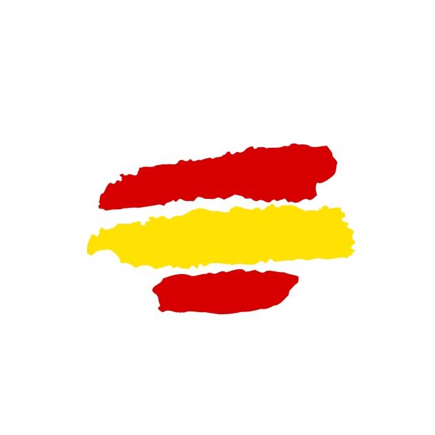 PEGATINA TRAZOS ESPANA 10X8 CM 8X6 CM 3013 801 1017