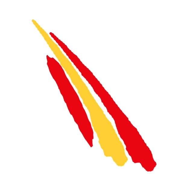 PEGATINA TRAZOS ESPANA LARGOS 11X3 CM 9X25 CM 801 3026