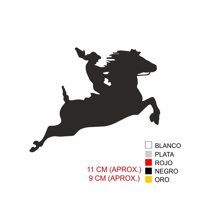 PEGATINA VINILO AMAZONA 7011 1