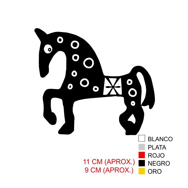 PEGATINA VINILO CABALLO 7051 1