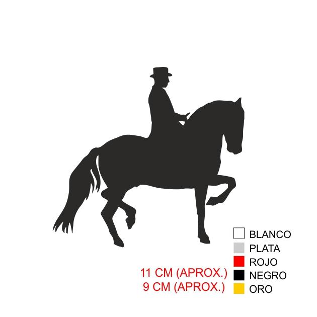 PEGATINA VINILO REJONEADOR 7017 1