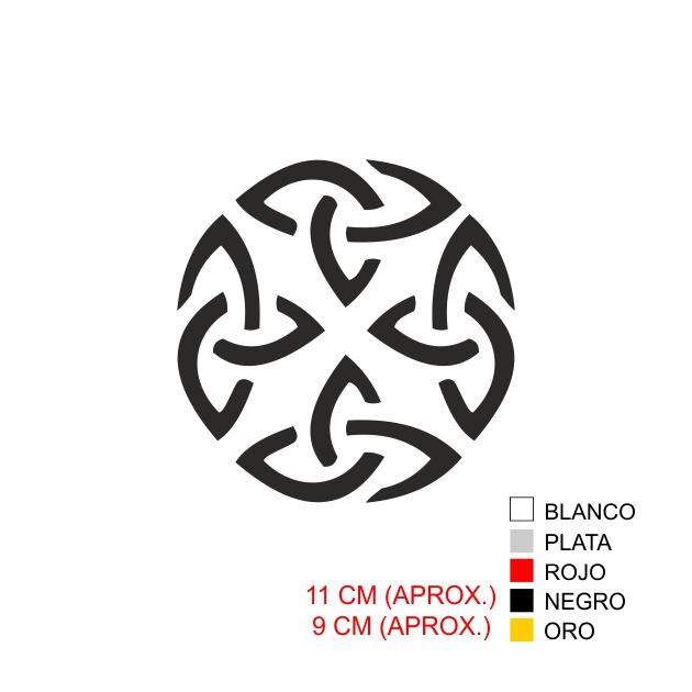 PEGATINA VINILO SIMBOLO 4 6005 1
