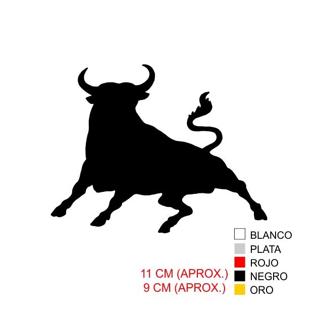 PEGATINA VINILO TORO 6051 1