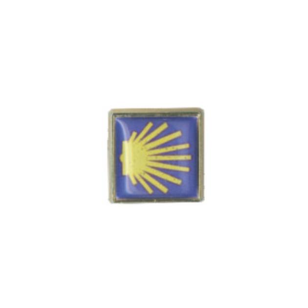 PIN CONCHA CAMINO GOTA DE RESINA SOUVENIR 401 326