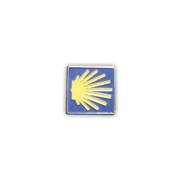 PIN CONCHA CUADRADO CAMINO SANTIAGO 401 306 1