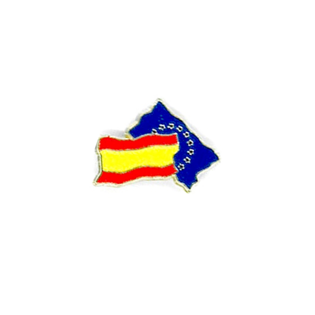 PIN ESPANA BANDERA SOUVENIR 401 102