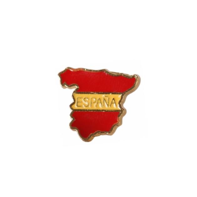 PIN ESPANA MAPA ESCUDO SOUVENIR 401 117