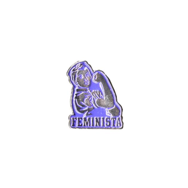 PIN FEMINISTA ROXY 401 756 SOUVENIR 1