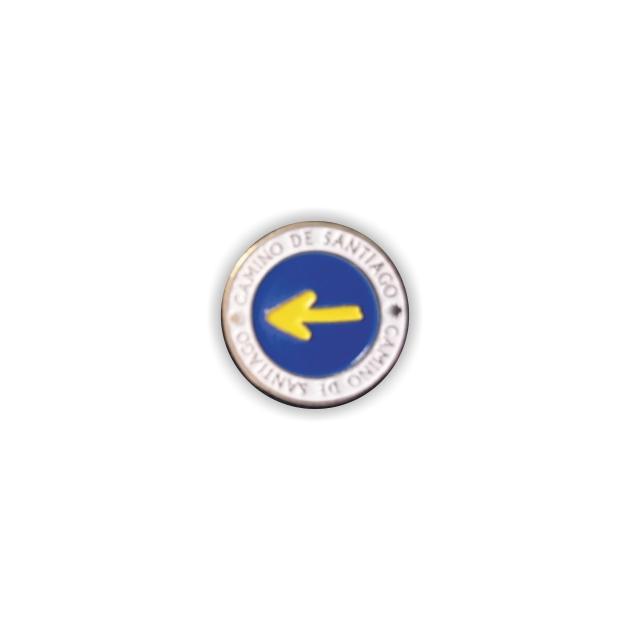 PIN FLECHA REDONDO CAMINO SANTIAGO 401 309 1
