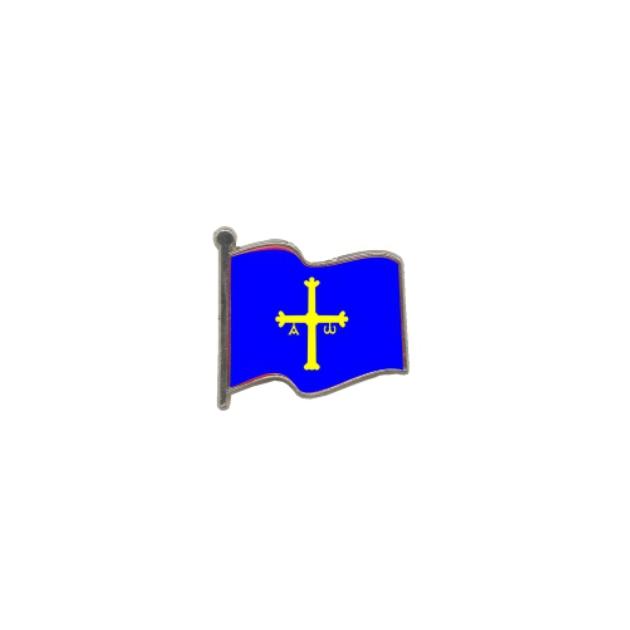 PIN GOTA RESINA ASTURIAS BANDERA ONDEANTE SOUVENIR 401 412