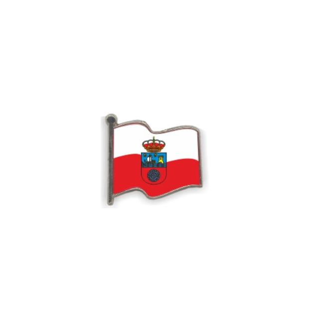 PIN GOTA RESINA CANTABRIA BANDERA ONDEANTE SOUVENIR 401 415