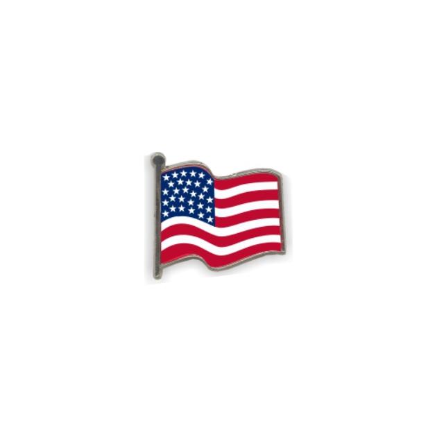 PIN GOTA RESINA EEUU BANDERA ONDEANTE SOUVENIR 401 429