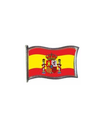 PIN GOTA RESINA ESPANA BANDERA GR ESCUDO ONDEANTE SOUVENIR 451