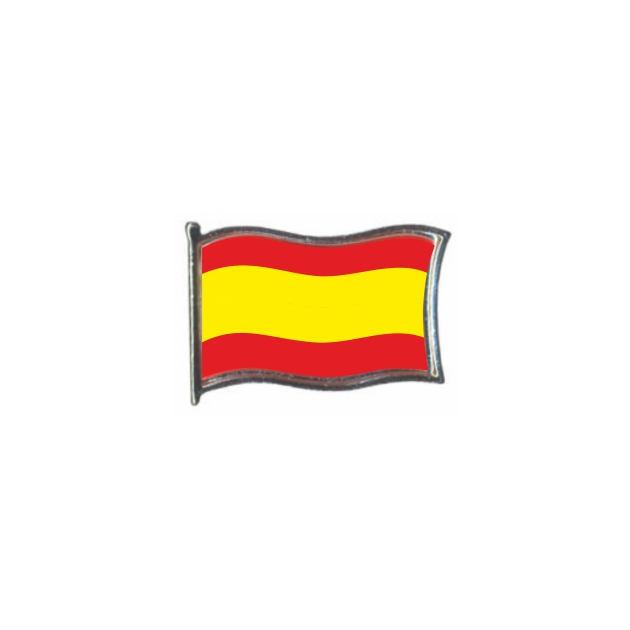 PIN GOTA RESINA ESPANA BANDERA GR ONDEANTE SOUVENIR 450