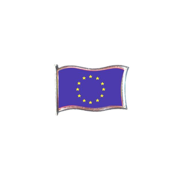 PIN GOTA RESINA EUROPA BANDERA GR ONDEANTE SOUVENIR 401 478