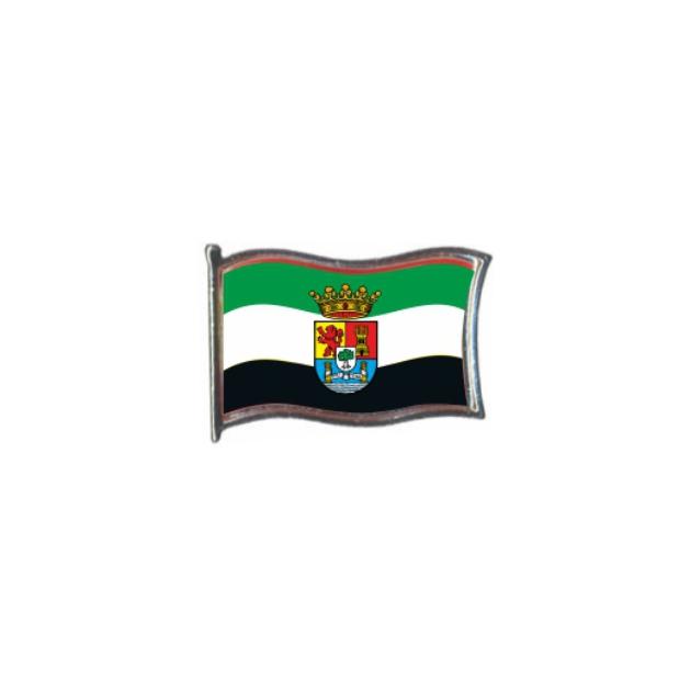 PIN GOTA RESINA EXTREMADURA BANDERA GR ONDEANTE SOUVENIR 401 471