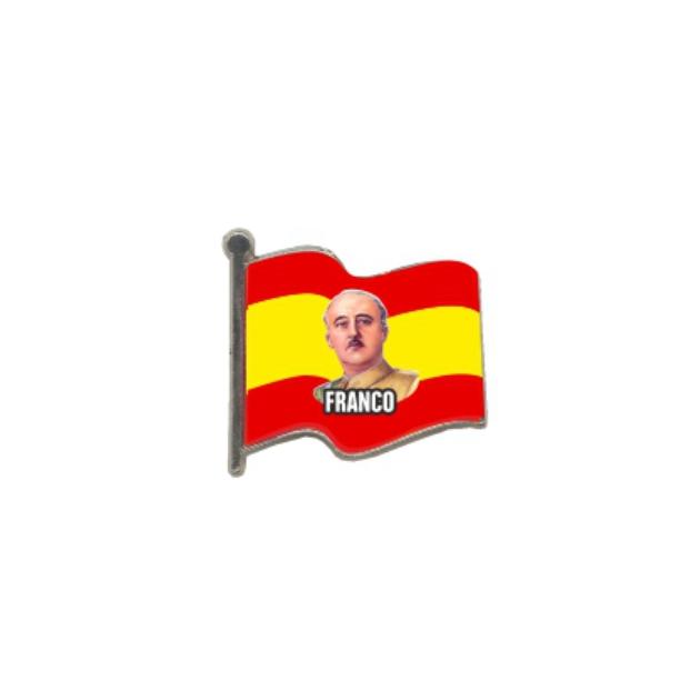 PIN GOTA RESINA FRANCO BANDERA ONDEANTE SOUVENIR 401