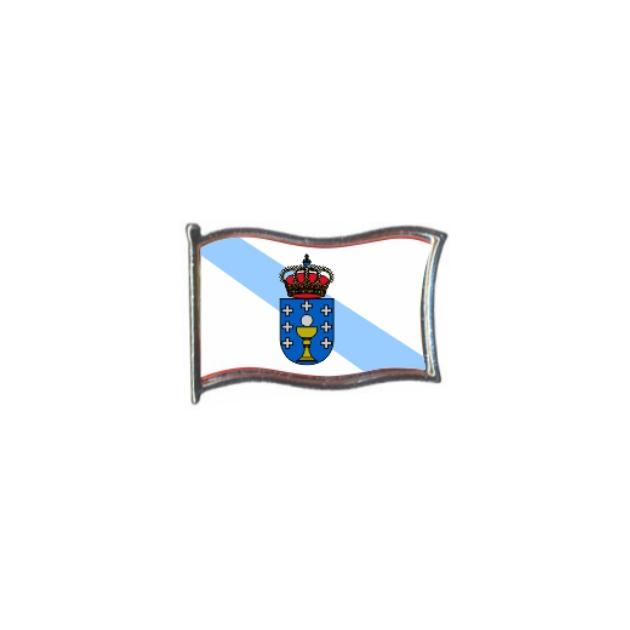PIN GOTA RESINA GALICIA BANDERA GR ONDEANTE SOUVENIR 401 456