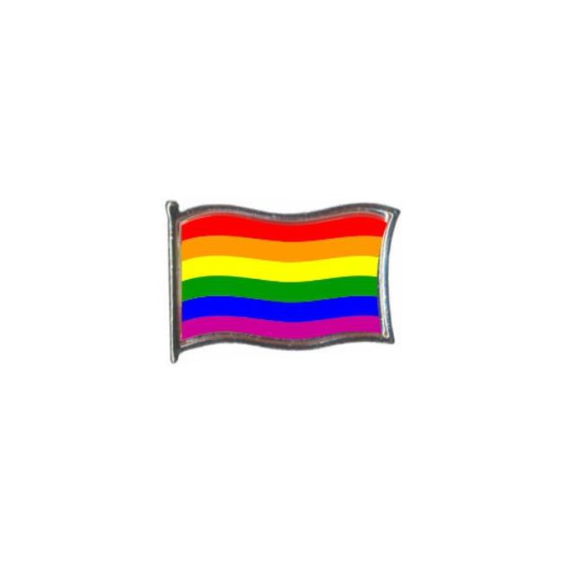 PIN GOTA RESINA GAY BANDERA GR ONDEANTE SOUVENIR 401 486