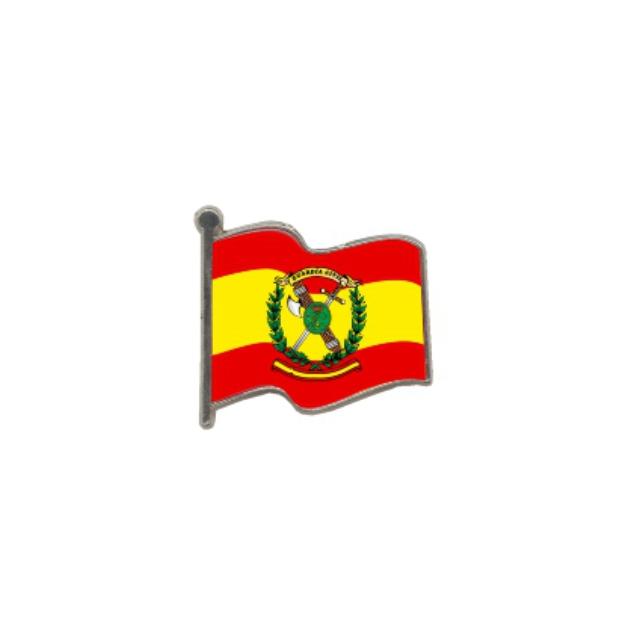 PIN GOTA RESINA GUARDIA CIVIL BANDERA ONDEANTE SOUVENIR 401