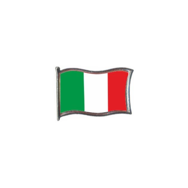 PIN GOTA RESINA ITALIA BANDERA GR ONDEANTE SOUVENIR 401 482