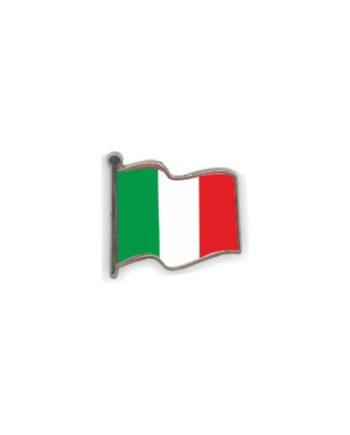 PIN GOTA RESINA ITALIA BANDERA ONDEANTE SOUVENIR 401 432