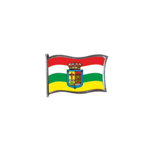 PIN GOTA RESINA LA RIOJA BANDERA GR ONDEANTE SOUVENIR 401 473