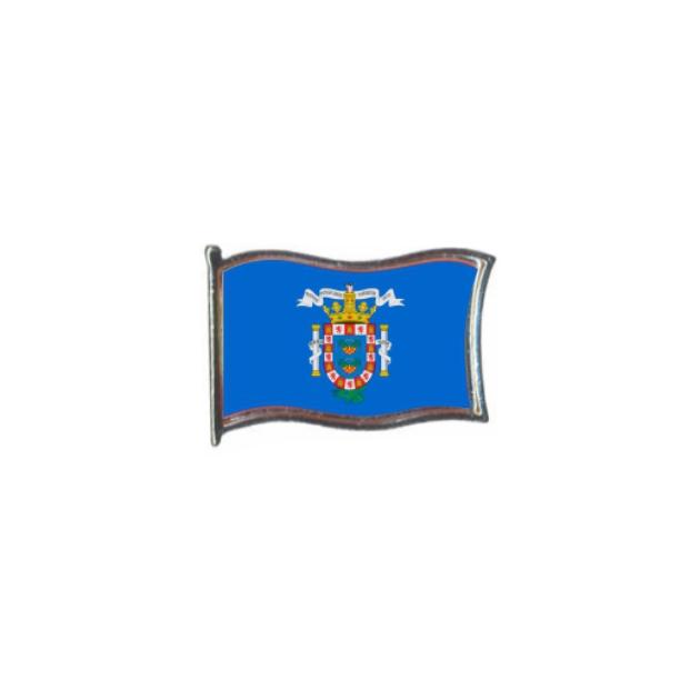 PIN GOTA RESINA MELILLA BANDERA GR ONDEANTE SOUVENIR 401 475