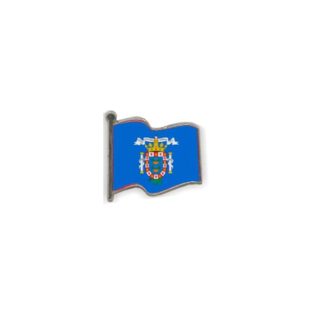 PIN GOTA RESINA MELILLA BANDERA ONDEANTE SOUVENIR 401 424