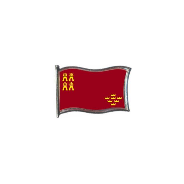 PIN GOTA RESINA MURCIA BANDERA GR ONDEANTE SOUVENIR 401 476