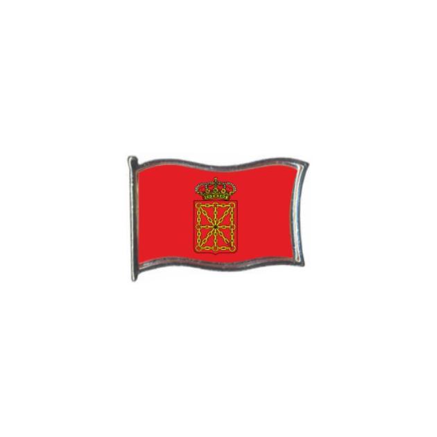 PIN GOTA RESINA NAVARRA BANDERA GR ONDEANTE SOUVENIR 401 477